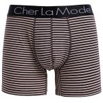 cheap Cherlamode (Three Color) 3PCS U Pouch Design Stripe Boxer Shorts For Men