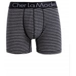 Cherlamode (Three Color) 3PCS U Pouch Design Stripe Boxer Shorts For Men for sale