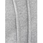 Casual Style Long Raglan Sleeve Solid Color Women's Hoodie for sale