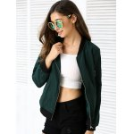cheap Zipper Design Pocket Bomber Jacket
