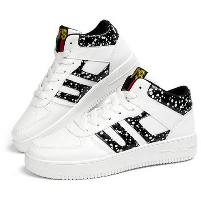 Mid Top Design Athletic Shoes For Men