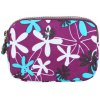 Casual Color Splicing and Floral Print Design Coin Purse For Women photo
