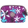 Casual Color Splicing and Floral Print Design Coin Purse For Women