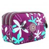 Casual Color Splicing and Floral Print Design Coin Purse For Women for sale