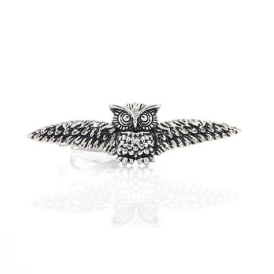 Owl Flying Shape Tie Clip