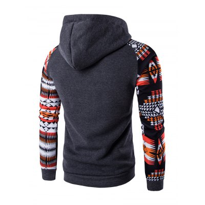 Patchwork Design Geometric Print HoodieMens Hoodies &amp; Sweatshirts<br>Patchwork Design Geometric Print Hoodie<br><br>Material: Cotton Blends<br>Package Contents: 1 x Hoodie<br>Shirt Length: Regular<br>Sleeve Length: Full<br>Style: Casual<br>Weight: 0.3980kg