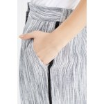 Empire Waisted Linen Ankle Pants photo