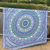 best Ethnic Style Rounded Totem Printed Quadrate Chiffon Sarong Long Scarf