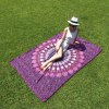 cheap Seductive Mandala Yoga Mat Gypsy Cotton Tablecloth Beach Towel Shawl Wrap Scarf