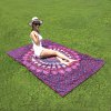 Seductive Mandala Yoga Mat Gypsy Cotton Tablecloth Beach Towel Shawl Wrap Scarf deal