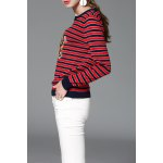 Striped Tiger Embroidered Sweater deal