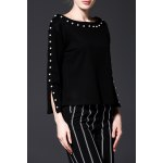 Beading Long Sleeve Top deal