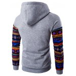 cheap Ethnic Style Printed Hoodie