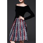 Jacquard Pleated A Line Skirt deal