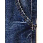 Plus Size Drawstring Ripped High Waisted Jeans deal