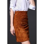 best Mini Ruched Bodycon Skirt