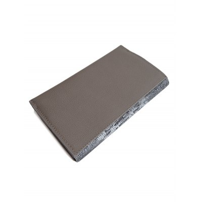 pu-leather-embossing-color-block-wallet