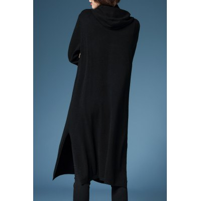 Hooded Cardigan with Pockets cardigan