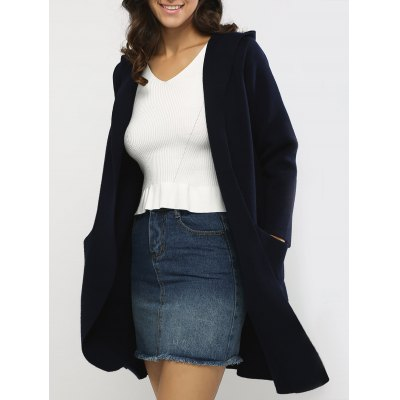 All-Matched Hooded Reversible Coat
