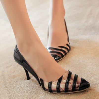 Stiletto Heel Point Toe Pumps