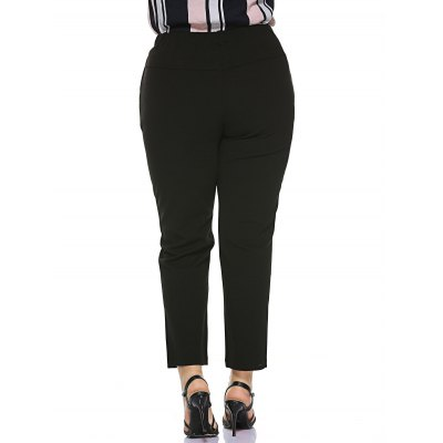 Plus Size Stretched Skinny Fitted Pants от GearBest.com INT