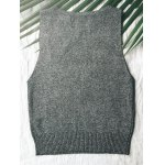 best Casual Deep V Neck Knitted Women's Tank Top