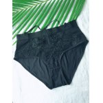 Alluring See-Through Lace Hook Spliced Panties
