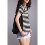 High Low Striped Top deal
