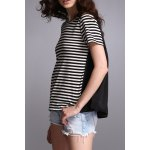 High Low Striped Top for sale