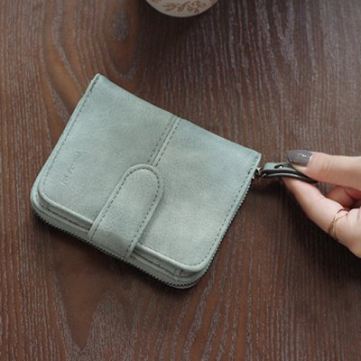 Zip Magnetic Flip Color Scissor Stitching Coin PurseCoin Purse &amp; Card Holder<br>Zip Magnetic Flip Color Scissor Stitching Coin Purse<br><br>Gender: For Women<br>Style: Casual<br>Closure Type: String<br>Pattern Type: Solid<br>Main Material: PU<br>Length: 11CM<br>Width: 3CM<br>Height: 8.5CM<br>Weight: 0.140kg<br>Package Contents: 1 x Coin Purse