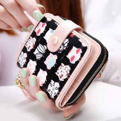Stitching Zip Tassels Cartoon Print Drawstring Coin PurseCoin Purse &amp; Card Holder<br>Stitching Zip Tassels Cartoon Print Drawstring Coin Purse<br><br>Gender: For Women<br>Style: Casual<br>Closure Type: String<br>Pattern Type: Character<br>Main Material: PU<br>Length: 11.5CM<br>Width: 3.2CM<br>Height: 10CM<br>Weight: 0.131kg<br>Package Contents: 1 x Coin Purse