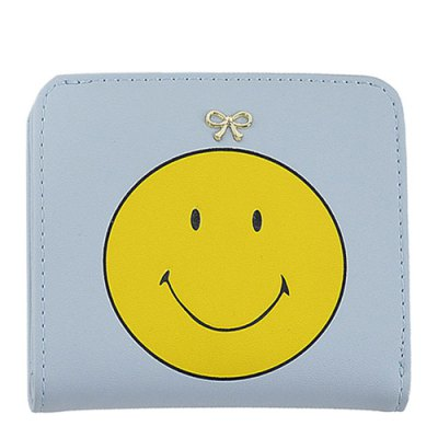 Smile Pattern Tassels Bow Coin PurseCoin Purse &amp; Card Holder<br>Smile Pattern Tassels Bow Coin Purse<br><br>Gender: For Women<br>Style: Casual<br>Closure Type: No Zipper<br>Pattern Type: Character<br>Main Material: PU<br>Length: 11CM<br>Width: 1.5CM<br>Height: 9.5CM<br>Weight: 0.100kg<br>Package Contents: 1 x Coin Purse