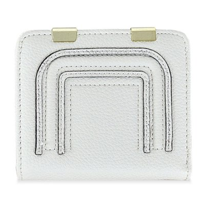 Metal Snap Closure Stitching Coin Purse