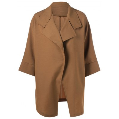 Loose Long Sleeve Trench Coat