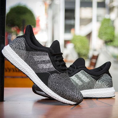 Mesh Tie-Up Athletic Shoes