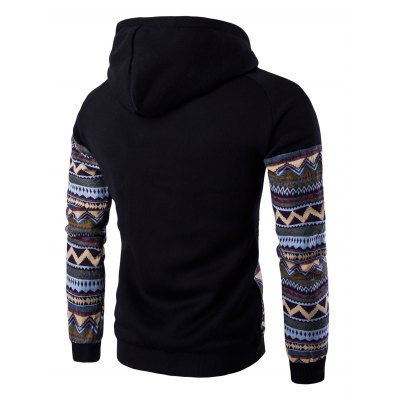 Color Block Tribal Printed Pocket Hooded Raglan Sleeve HoodieMens Hoodies &amp; Sweatshirts<br>Color Block Tribal Printed Pocket Hooded Raglan Sleeve Hoodie<br><br>Material: Cotton, Polyester<br>Package Contents: 1 x Hoodie<br>Shirt Length: Regular<br>Sleeve Length: Full<br>Style: Fashion<br>Weight: 0.4070kg