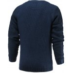 cheap Brief Style Round Neck Long Sleeve Sweater