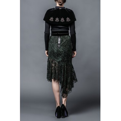 embroidered-pullover-capelet-knitwear