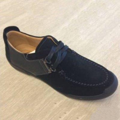 PU Spliced Casual Shoes