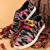 cheap Rivet Lace-Up Camouflage Print Casual Shoes ODM Designer
