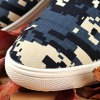 Camo Pixel Print Lace-Up Casual Shoes ODM Designer for sale