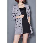 Striped High Low Cardigan deal