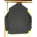 cheap Stand Collar Color Splicing Padded Jacket ODM Designer
