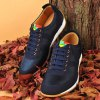 Mesh Breathable Suede Spliced Casual Shoes ODM Designer deal