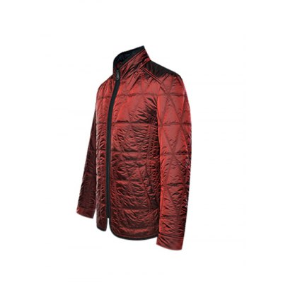 Geometric Pattern Quilted Wadded Jacket ODM Designer