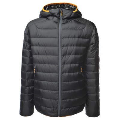 Zip Up Hooded Down Jacket ODM Designer