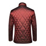 Geometric Quilted Wadded Jacket ODM Designer deal