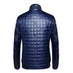 Geometric Zip Up Padded Jacket ODM Designer deal