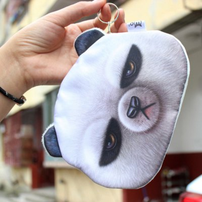Lifelike 3D Animal Coin PurseCoin Purse &amp; Card Holder<br>Lifelike 3D Animal Coin Purse<br><br>Gender: For Women<br>Style: Casual<br>Closure Type: Zipper<br>Pattern Type: Character<br>Main Material: Polyester<br>Length: 15.8CM<br>Height: 12.8CM<br>Weight: 0.045kg<br>Package Contents: 1 x Coin Purse
