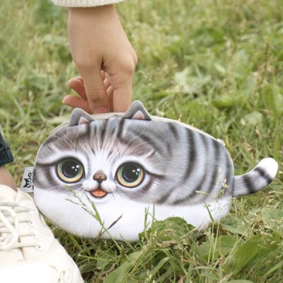 Zipper 3D Animal Coin Bag